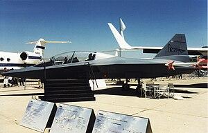 EADS Mako/HEAT - EADS Mako mockup at Paris Air Show June 1999