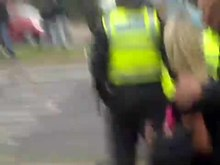 File:EDL attacking Big John's restaurant in Leicester (short version).ogv