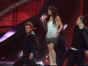 Armenia in the Eurovision Song Contest - Image: ESC 2008 Armenia Sirusho, 1st semifinal