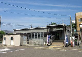Kasugayama Station Railway station in Jōetsu, Niigata Prefecture, Japan