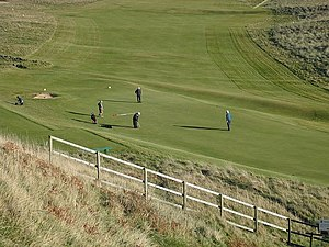 Elie Golf Club - Image: Earlsferry Links geograph.org.uk 1538889