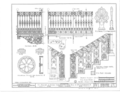 Early Iron Work, Mobile, Mobile County, AL HABS ALA,49-MOBI,230- (sheet 4 of 6).png