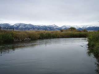 East Gallatin River river in Montana
