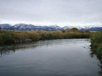 East Gallatin River - East Gallatin River near Belgrade, Montana