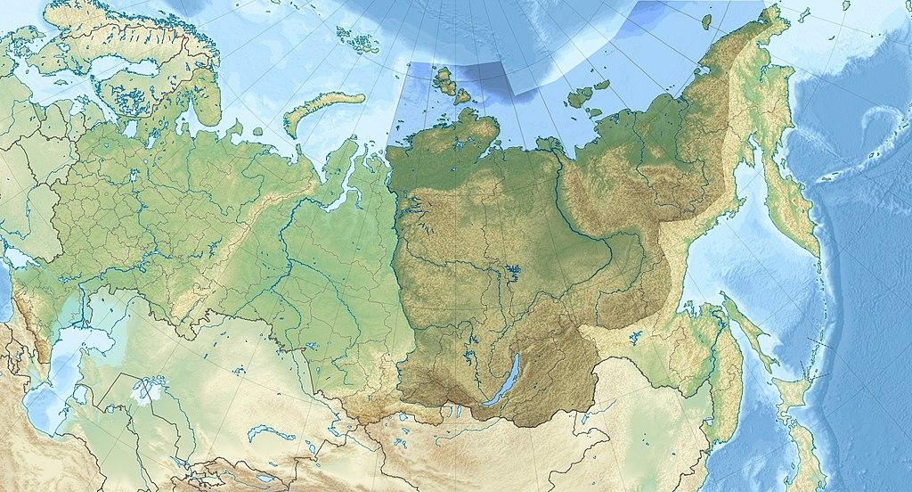 East Siberia relief location map.jpg