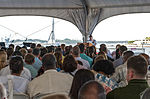 Easter sunrise service aboard Battleship Missouri Memorial 150405-N-PA426-123.jpg