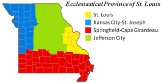 Roman Catholic Archdiocese of St. Louis - Ecclesiastical Province of St. Louis