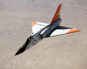 Eclipse program QF-106 aircraft in flight.jpg