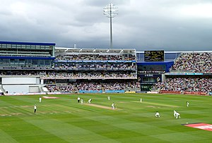 2017 ICC Champions Trophy - Image: Edgbaston view of new stand from the north