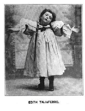 Edith Taliaferro - Taliaferro in Metropolitan Magazine, January 1899