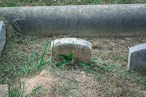 Edmund William McGregor Mackey - Grave of Edmund Mackey at Glenwood Cemetery.