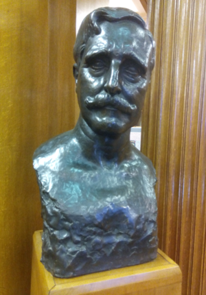Edward Brotherton, 1st Baron Brotherton - A bust of Edward Allen Brotherton, 1st Baron Brotherton, on display in the Brotherton Library, University of Leeds.