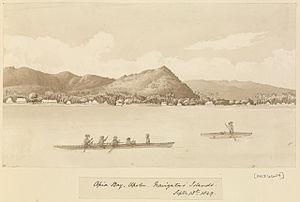 Edward Gennys Fanshawe, Apia Bay, Upolu, Navigators' Islands (Samoa) Septr 18th 1849.jpg