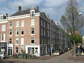 Housing cooperative - Typical cheap late 19th century corporation housing in Amsterdam