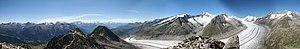Eggishorn - Image: Eggishorn panorama