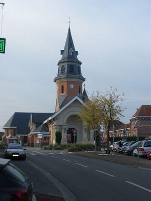 Frelinghien - Image: Eglise Frelinghien 1