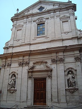 Image illustrative de l'article Église du Gesù (Frascati)