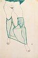 Egon Schiele - Weiblicher Torso mit grüner Draperie - 1913.jpeg