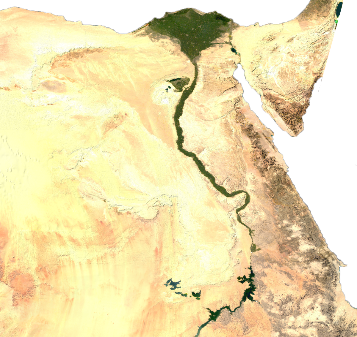 Climate Of Egypt Wikipedia - Map of egypt 2017