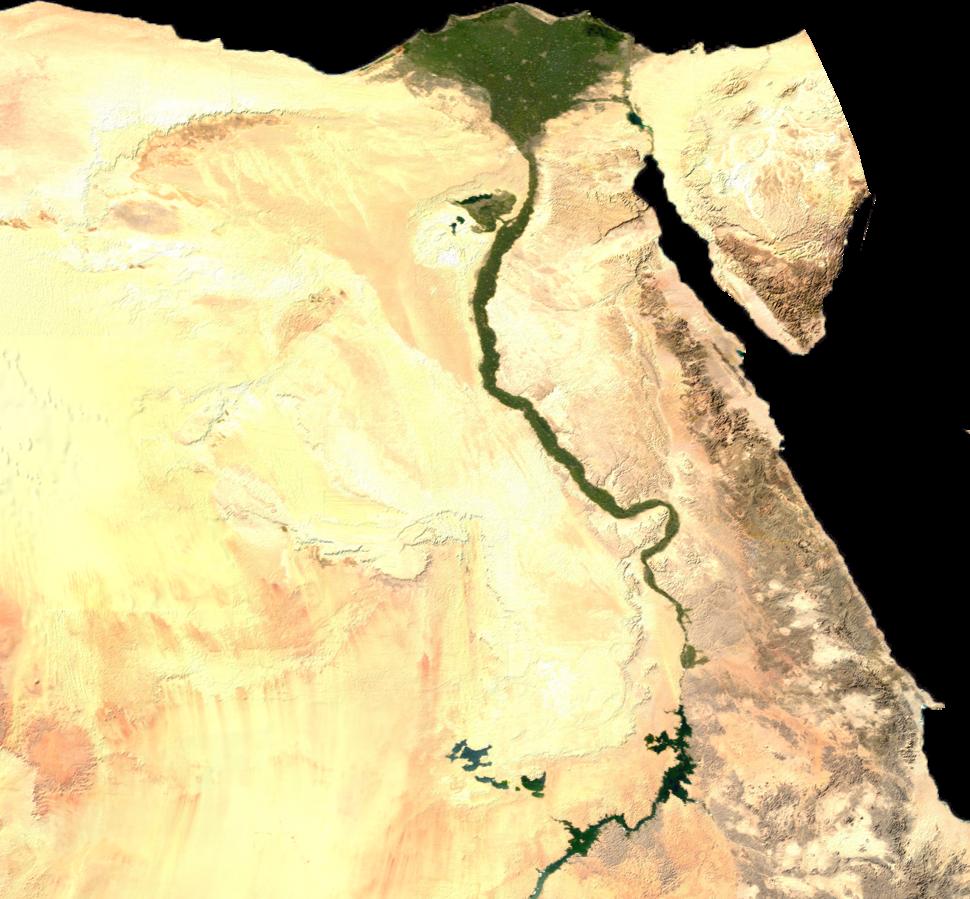Egypt sat