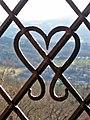 Ein offenes badisches Herz - Blick vom alten Schloss Baden-Baden Richtung S-O, Schwarzwald, black forest, forêt noire - panoramio.jpg