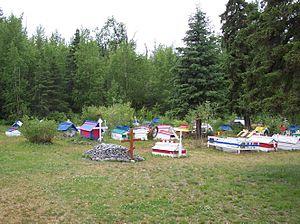 Eklutna, Anchorage - Eklutna Spirit Houses