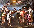 El Bautismo de Cristo, de Alessandro Turchi (Museo del Prado).jpg