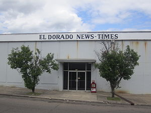 El Dorado, Arkansas - El Dorado News-Times office