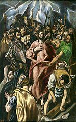 Disrobing of Christ (by J.M.Theotocópuli)