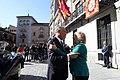 El presidente de la República de Portugal, Marcelo Rebelo de Sousa, recibe la Llave de Oro de Madrid 02.jpg