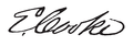 Eleutheros Cooke signature.png