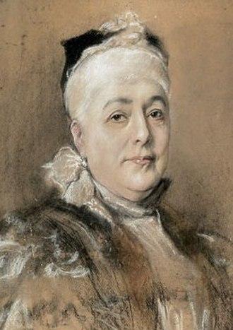 Duchess Maria Dorothea of Württemberg - Image: Elisabeth Franziska Austria 1831 1903 painting
