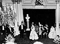 Elizabeth and Philip, state banquet, 1954.jpg