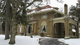 Elwood Haynes Museum - Front of the house