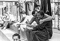 Emberek a strandon, 1955. Fortepan 19391.jpg