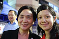 Emily Lau and Crystal Chow 20090603.jpg