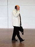 En av delegaterna ar pa vag in till BSPC-S mote i Visby 2008-09-01.jpg