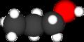 Enkel modell av eit propanolmolekyl.png