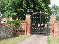 Entrance Gateway to Little Easton Manor (geograph 1925138).jpg