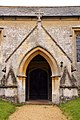Entrance to St Leonard's Church in Waterstock - geograph.org.uk - 1724848.jpg