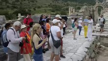 Archivo:Ephesus Efes Turkey 2015.webm