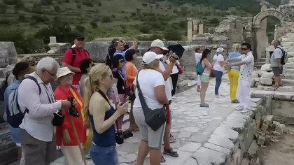 File:Ephesus Efes Turkey 2015.webm
