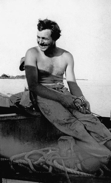 File:Ernest Hemingway Fishing, Key West, 1928.jpg