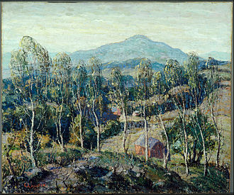 Ernest Lawson -  Ernest Lawson, New England Birches