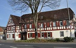 Eschborn, Hauptstraße 17, Goldener Hirsch