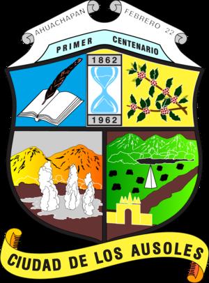 Ahuachapán Department - Image: Escudo del departamento de ahuachapan