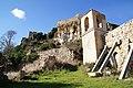 Església de Sant Llorenç (Selmella) amb el castell al fons.jpg