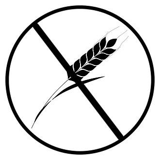 Gluten-related disorders - Crossed-grain symbol of the Association Of European Coeliac Societies (AOECS)