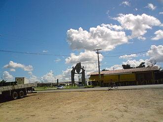 Assu, Rio Grande do Norte - Image: Estatua Assu
