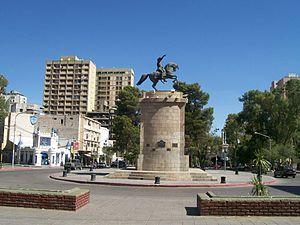 Neuquén - Monument to San Martin